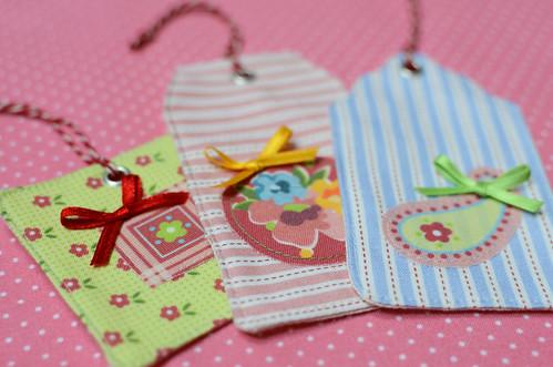Stoffanhänger Fabric Tags