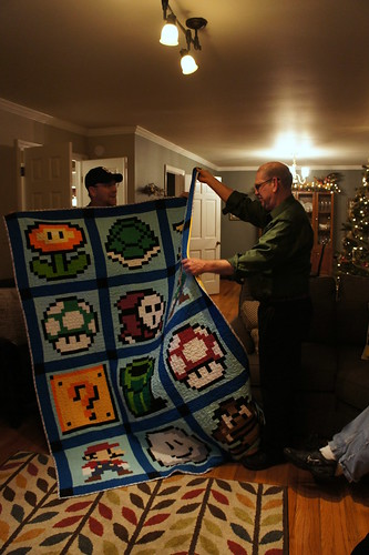 Super Mario Quilt - Gifted!
