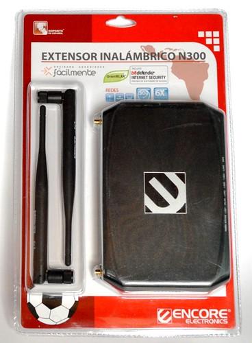 Extensor inalámbrico N300, Encore