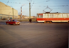 Saint Petersburg Tram - Changing the Points