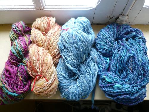 Selection of yarn