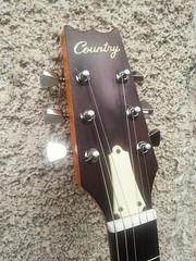 Guitare Country, détail  (Matsumoku ou Kasuga ?)