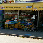Shop on Wilmslow Road in Rusholme, Manchester