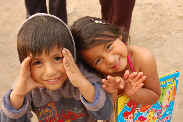 Adorable Kids of Caral