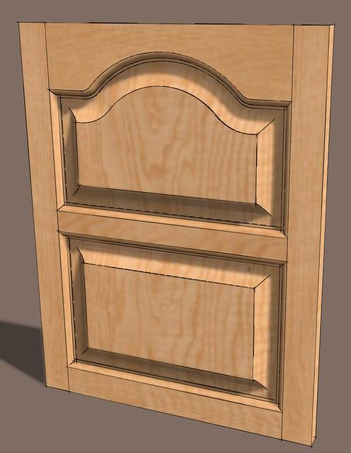 rail stile edge routing sketchucation 1. Black Bedroom Furniture Sets. Home Design Ideas