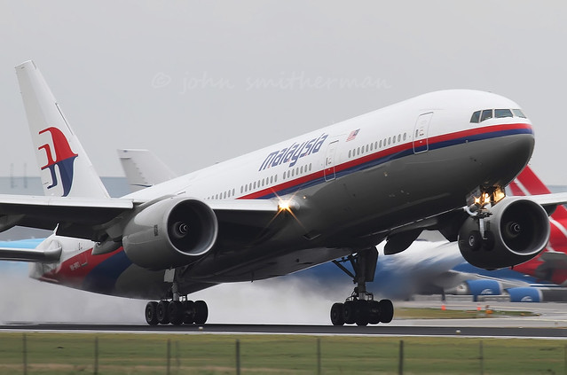 9M-MRD MALAYSIAN AIRLINES 777-200