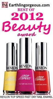 EG Beauty Awards 2012 Revlon Top Speed Fast Dry Nail Enamel