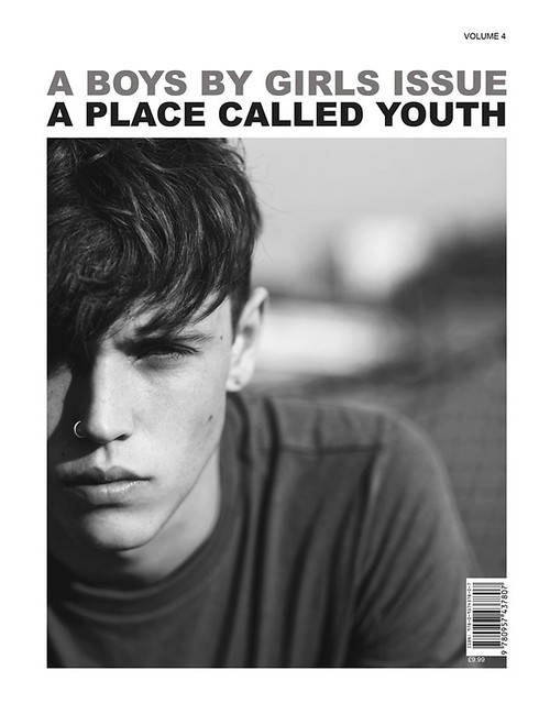 "Jake Cooper cover for Boys by Girls 4th issue ""A Place Called Youth"""