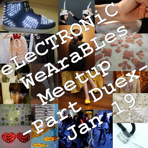 eLeCTRONiC WeAraBLes -Part Duex- Jan 19