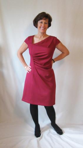 Lekala dress front