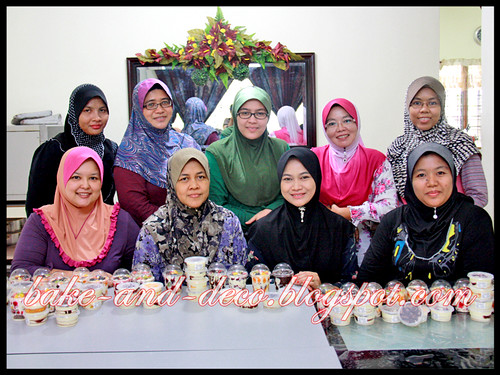 Baking Class: Lapis Cheezy & Tytty Fruity Cream Dessert ~ 20 June 2012