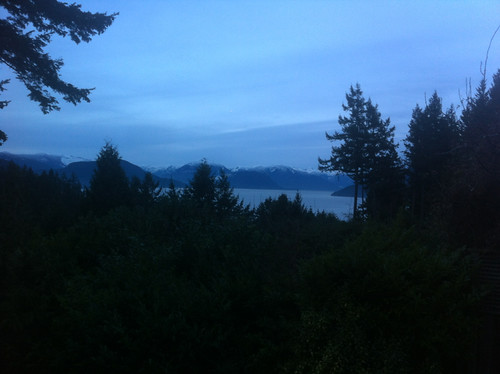 View from our house in West Vancouver
