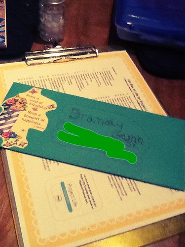 Outgoing letter