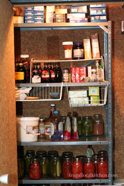 new year's resolution: clean out pantry for a healthier diet