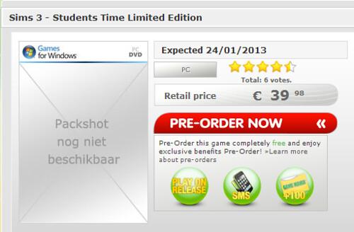 The Sims 3 University Life Mania