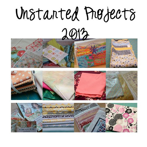 Unstarted Projects 2013
