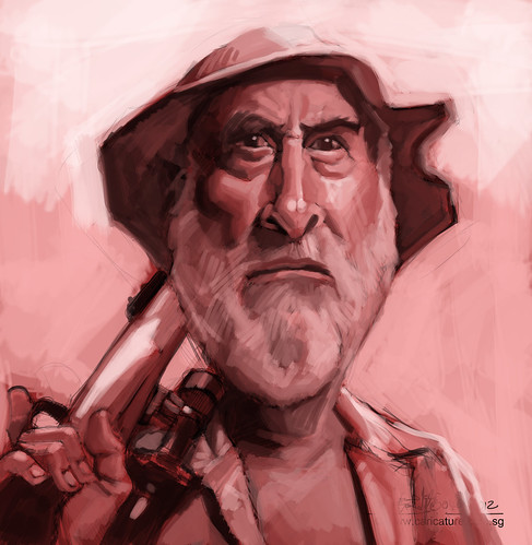 digital caricature of Dale - 1