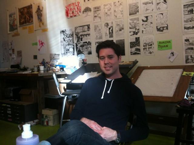 Brendan Burford at SAW
