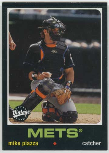 2002 Upper Deck Vintage Mike Piazza