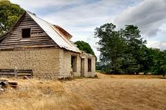 Old house, Rapaura, Marlborough, New Zealand.