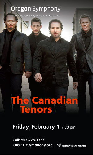 Canadian Tenors @ Oregon Symphony