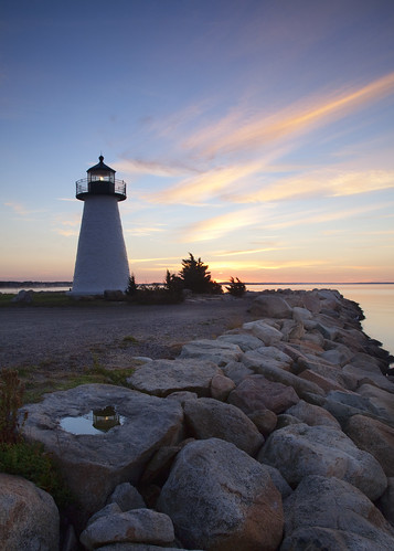 new england lighthouse sunrise point ma dawn bay buzzards neds