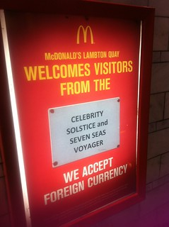 McDonalds, how exotic!