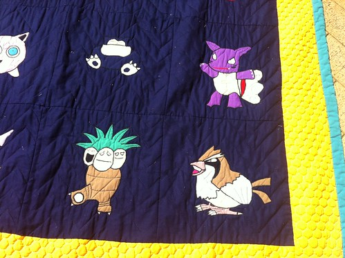 Pokemon Quilt (Bottom Right)