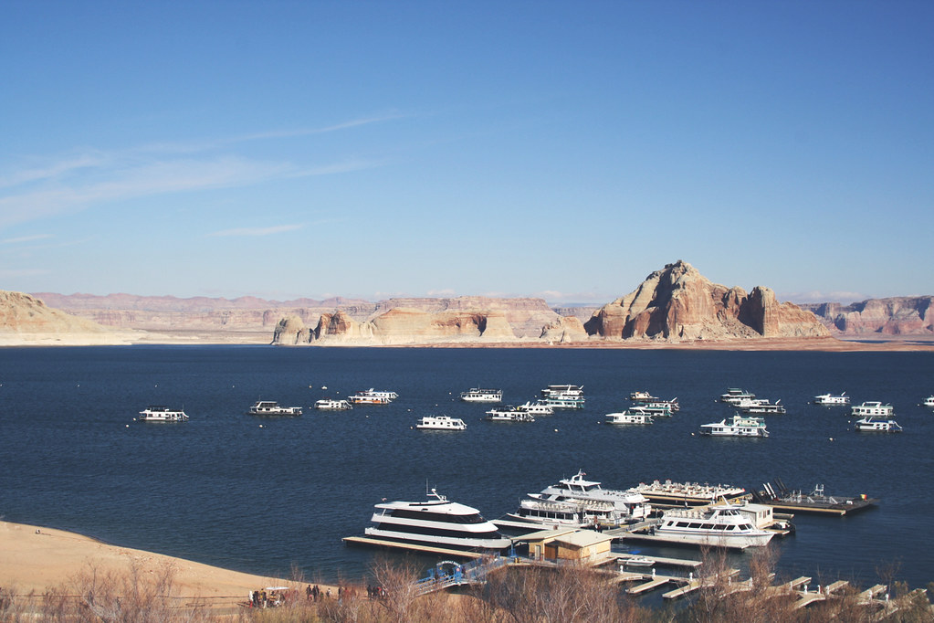 lake powell dock