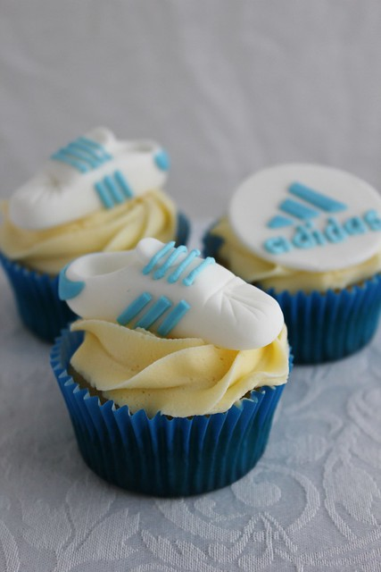 Adidas Shoe Cupcakes