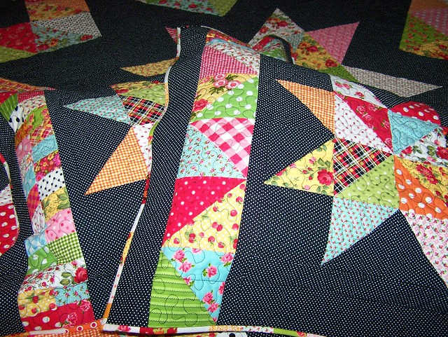 Mrs.Star Queen Sized Quilt Pillow Shams