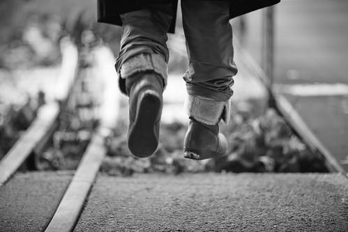 Air walk.