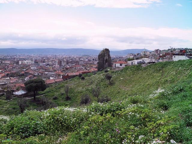 The remains of Roman amphitheatre, Pergamon