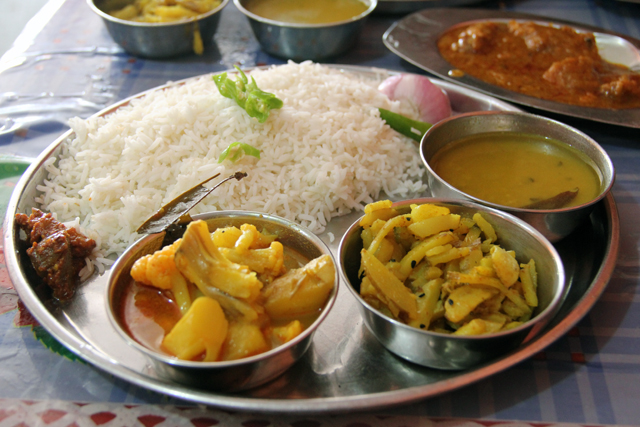 A thali - full set meal