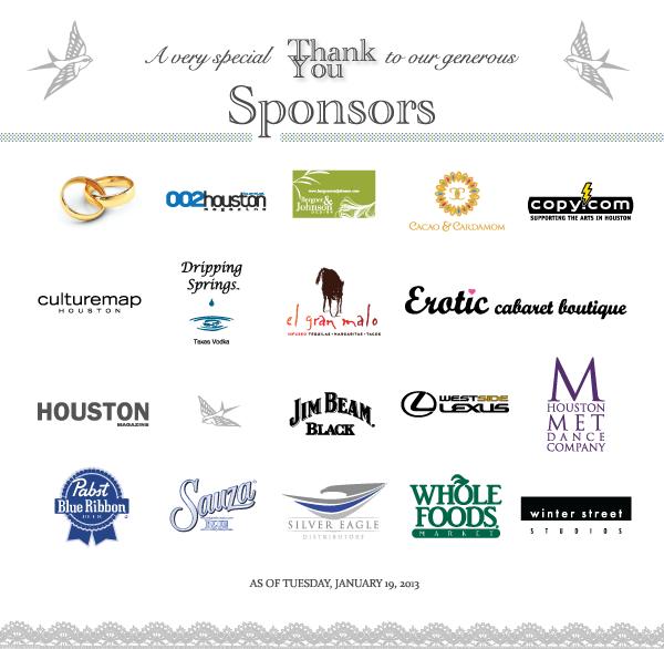 2013 Ball 'N Chain Sponsors