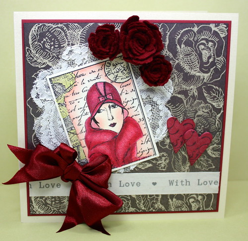 Art Deco Lace Valentine