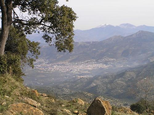 Los Villares desde el Cerro Viento