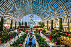 HDR - Sunken Garden Como Park Conservatory