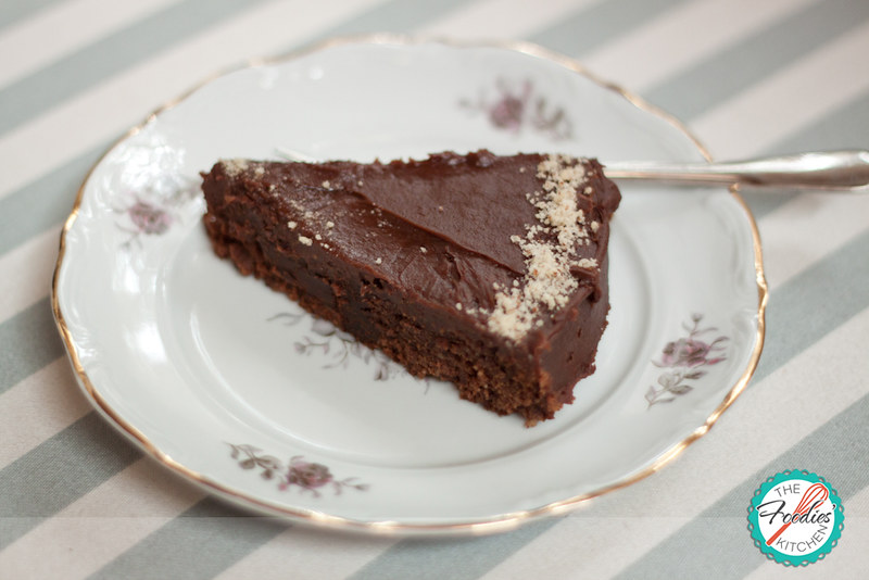 Reine De Saba (Chocolate And Almond Cake) With Chocolate ...