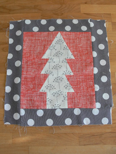 WIP: Christmas Trees Table Runner