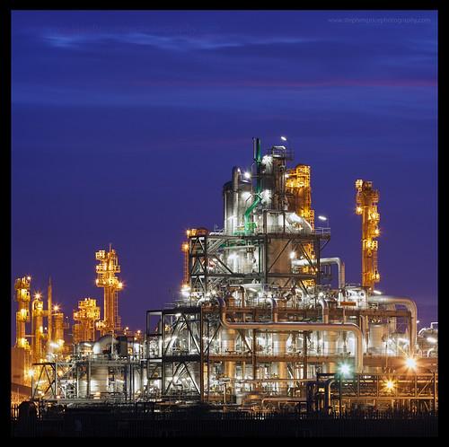 industry night industrial nightlights steel pipes bluehour hull bp afterdark chemical saltend steveprice blinkagain