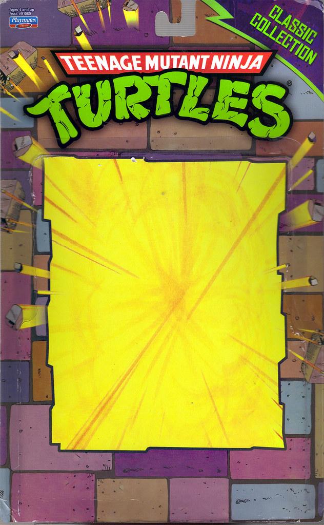 TEENAGE MUTANT NINJA TURTLES - CLASSIC COLLECTION :: RAPHAEL ..card backer i (( 2012 )) by tOkKa