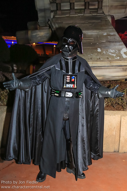 DLP Halloween 2012 - Meeting Darth Vader