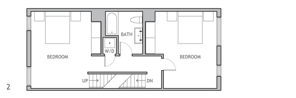 Snapback Second Floor Plan