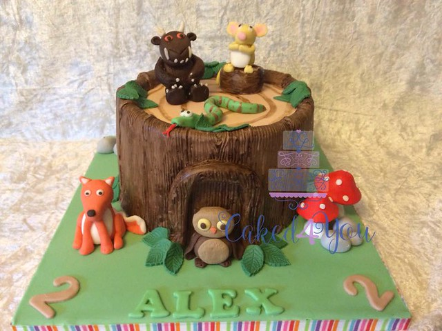 Gruffalo Cake by Clare Blinman of Caked4You
