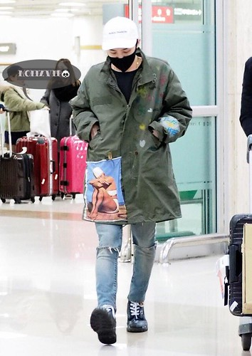G-Dragon - Gimpo Airport - 02mar2015 - NoiizVip - 06