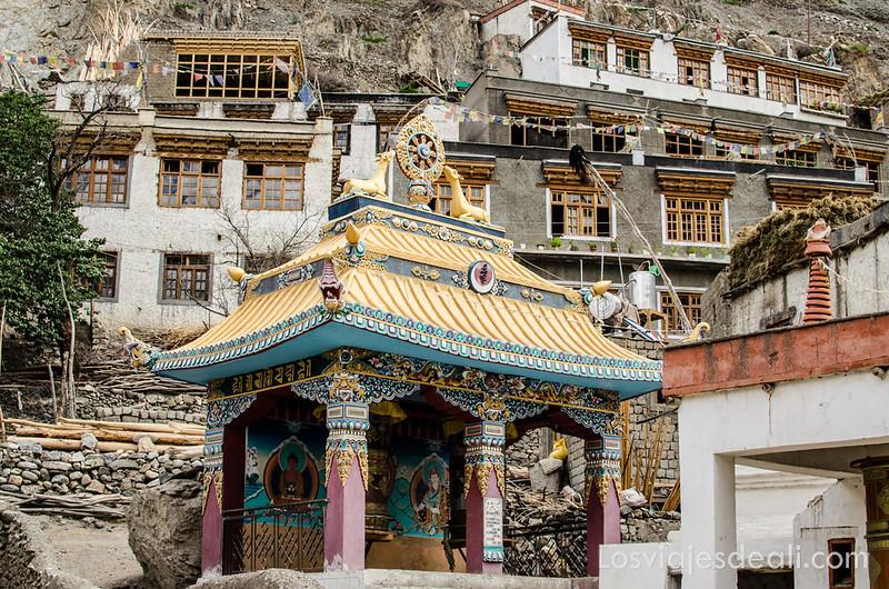 pueblo de Wanla en Ladakh