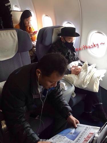 Tae Yang - Shanghai Airport - 31jan2015 - MyLadies盛开微光 - 01