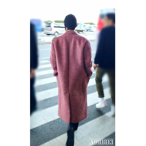 Big Bang - Incheon Airport - 22mar2015 - G-Dragon - a081813 - 03