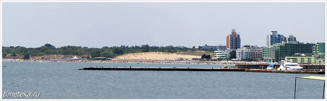 Несебр. Вид на городской пляж